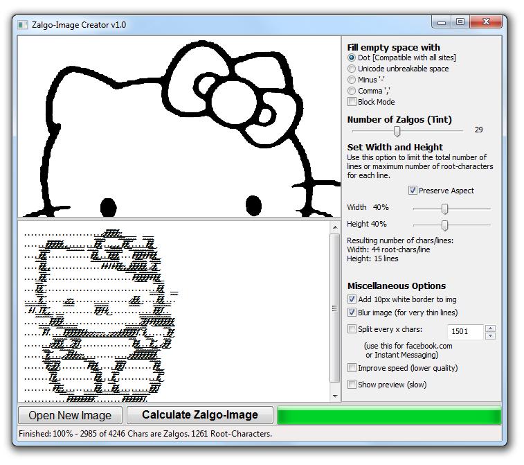 Zalgo text generator download